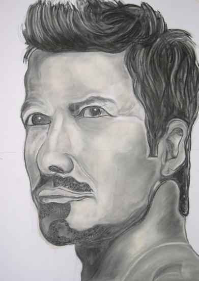 David Beckham by f1orest
